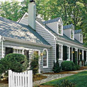 Cape cod update southern living for Cape cod dormer addition