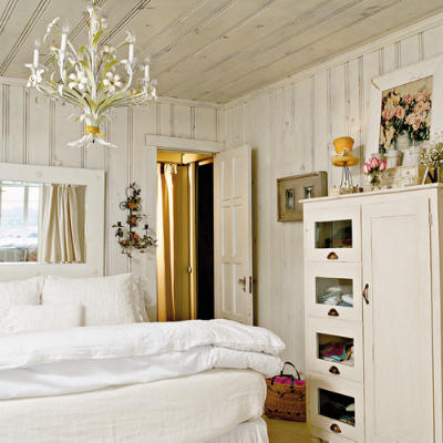 cottage living decorating ideas all white cottage style