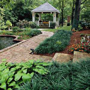 Creating a garden getaway southern living for Southern living landscape design