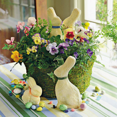 easter decorations spring table settings and centerpieces southern