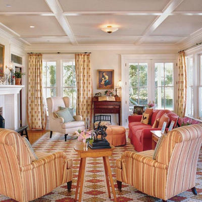 your wood tones 102 living room decorating ideas southern living