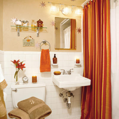 Guest bathroom decorating ideas stay flexible with for Finished bathroom ideas
