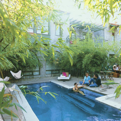 Hip Hangout Hotel San Jose Slide Show Cool Pools Great Stays Southern Living