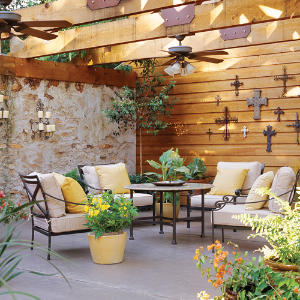 Outdoor room you ll love southern living for Outdoor garden rooms