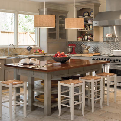 Kitchen inspiration southern living for Southern living kitchen designs