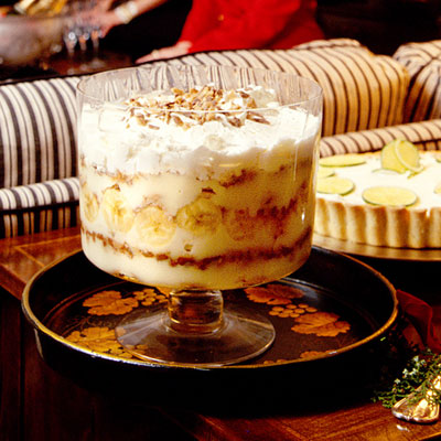 Banana Pudding Trifle Heavenly Holiday Desserts