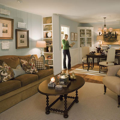 Lovely living rooms southern living for Southern living keeping room ideas