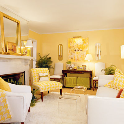 Picture Light Interior Living Room Yellow