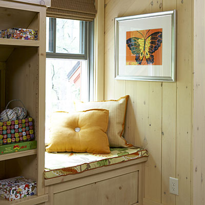 A Window Seat In A Cozy Nook Design Details Outside And