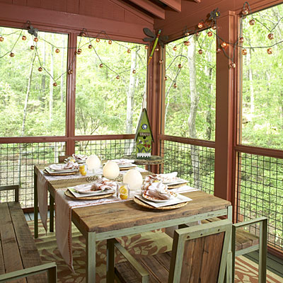 Porches and patios entertaining porch porch and patio Screened in porch decor
