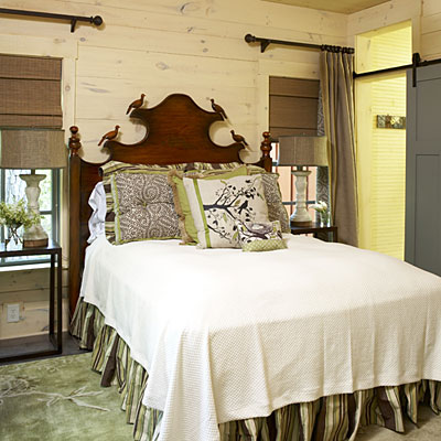 cabin chic master bedroom decorating ideas southern living