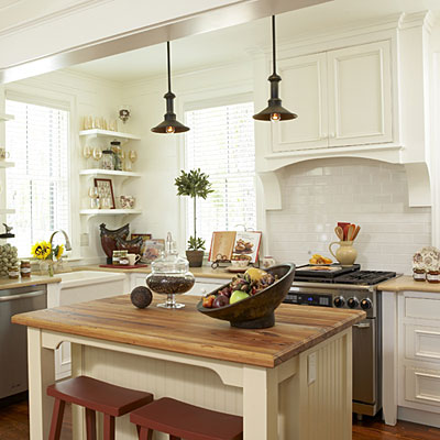 Kitchen inspiration southern living for Southern kitchen design