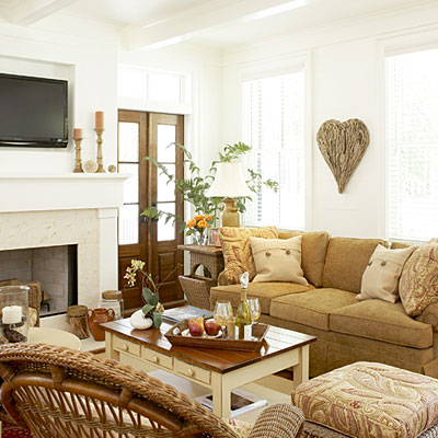 Southern Home Living Rooms
