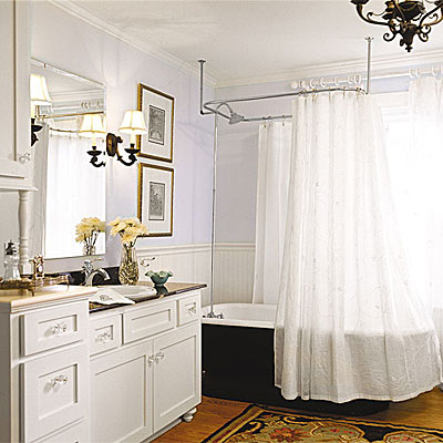 After cottage style bedroom to bathroom renovation for Cottage bathroom ideas renovate