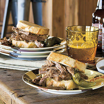 The Pioneer Woman: Cowboy Dip Sandwich Recipes - The Pioneer Woman ...
