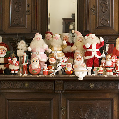 rooms that don t usually get the full gamut of christmas decorations
