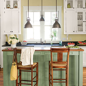 style guide kitchen and dining room lighting southern living. Black Bedroom Furniture Sets. Home Design Ideas