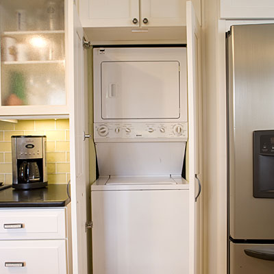 Hide The Laundry Room In Kitchen Cabinets 10 Ways To