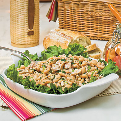 Healthy Main Dish Salad Recipes: White Bean-and-Tuna Salad - 56 Quick ...