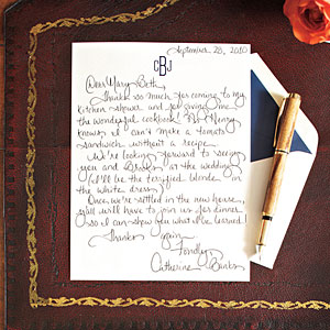 writing a good thank you note How to write a thank you note for a sympathy gift write a touching memory for the person you are writing the thank you note to about the deceased person.