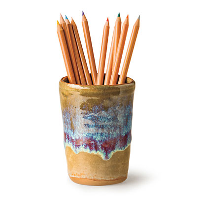 Stylish Home Office Accessories: Pencil Cups - Stylish ...