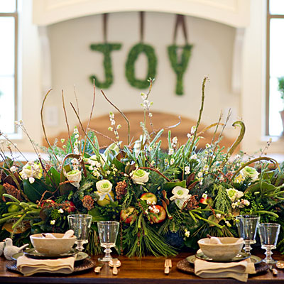 centerpiece idea house christmas decorations southern living