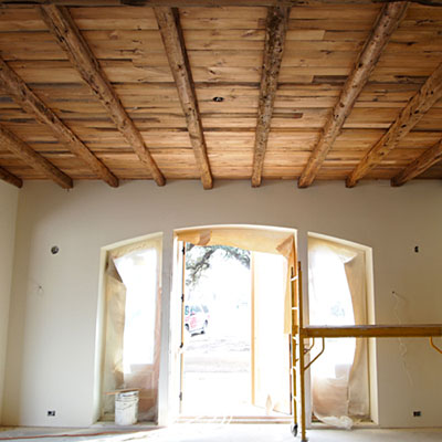 Dining Room Ceiling - Using Salvaged Wood in Architectural Details ...
