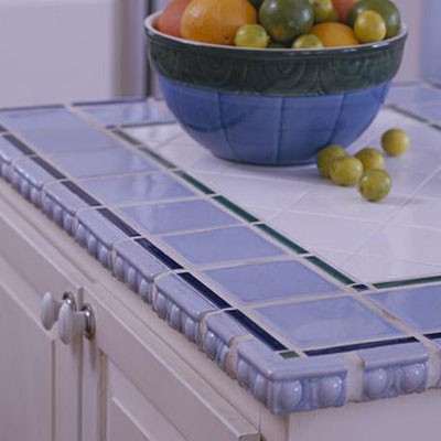 Ceramic Tile - Kitchen Countertops - Southern Living