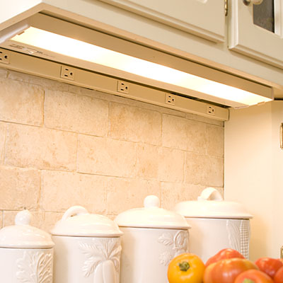 Kitchen Lighting: Under-Cabinet Lighting - Kitchen Lighting Ideas ...