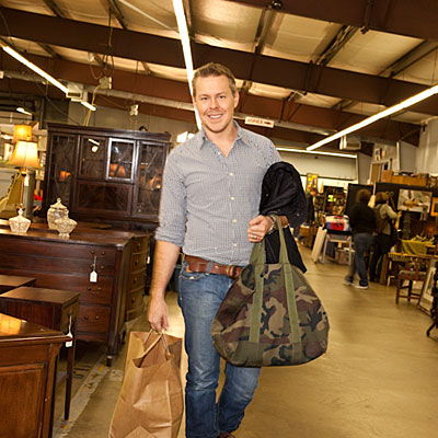 flea market shopping in charlotte southern living