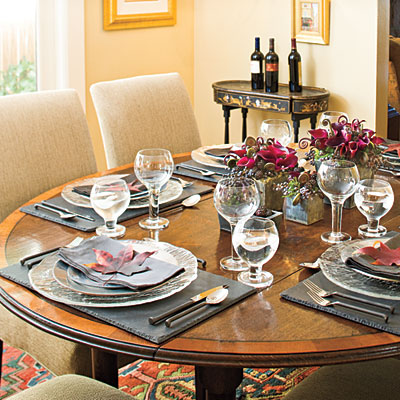 Place Setting Ideas Look Outside For Table Decor How To