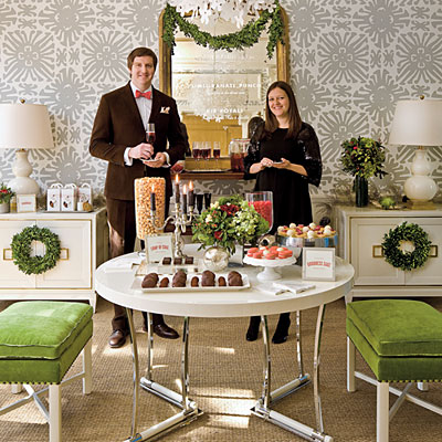 christmas party ideas glam christmas cocktail southern living