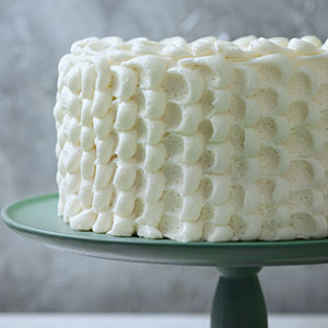 Cake Decorating White Frosting : Cake Decorating Ideas: Dot-Push Frosting Southern Living