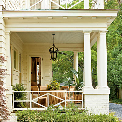 Salvaged and repainted a southern craftsman restoration - Southern homes and gardens montgomery al ...