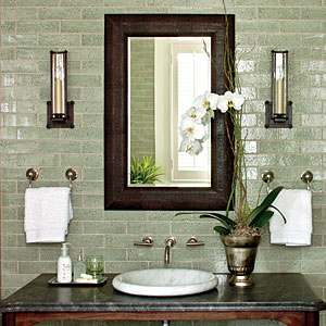 Powder Room Decorating Tip Southern Living
