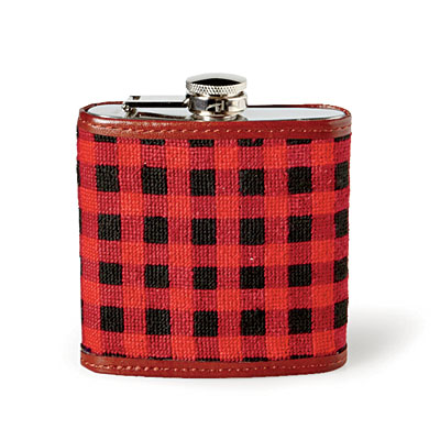 Needlepoint flask christmas gifts for him southern living for Gardening gifts for him