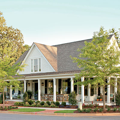 Paint it white 10 ways to add cottage style southern for Cottage charm farmhouse