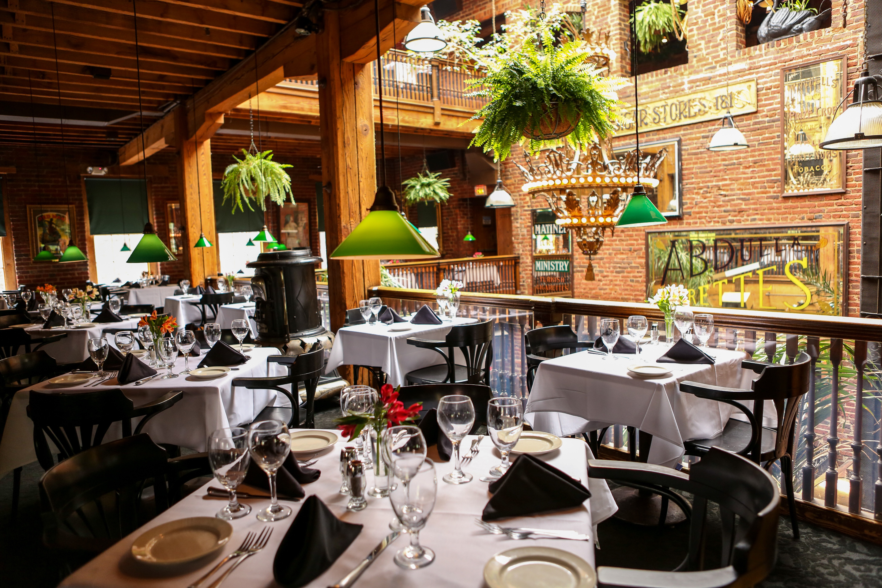 The tobacco company restaurant southern living