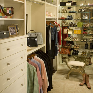Bedroom closet organizing southern living for Southern closets