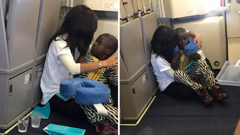 Charlotte Woman Soothes 8-Year-Old Stranger with Special Needs During 8-Hour Transatlantic Flight