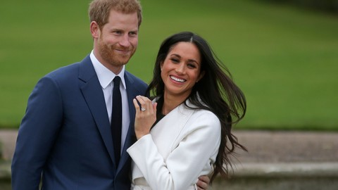 WATCH: Meghan Markle's Classic Engagement Ring Includes Stones from Princess Diana