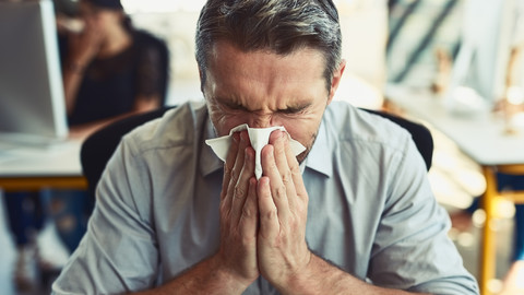 The Percentage of Americans Who Go To Work When They're Sick Will Make You, Well… Sick