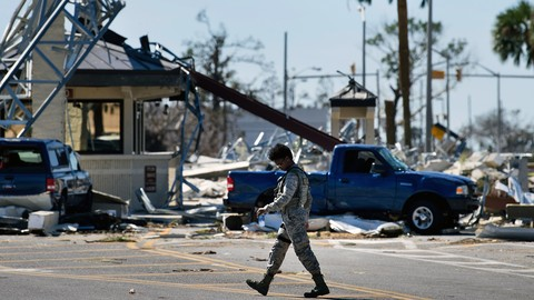 Lawmakers Vow to Rebuild Tyndall Air Force Base in Wake of Hurricane Michael Destruction