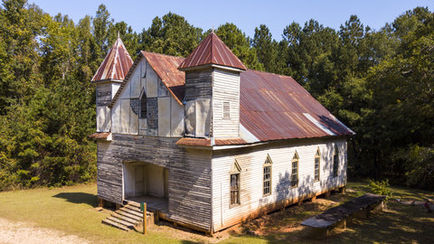 "The Historic Sites Named to Georgia's Top 10 ""Places in Peril"" List"