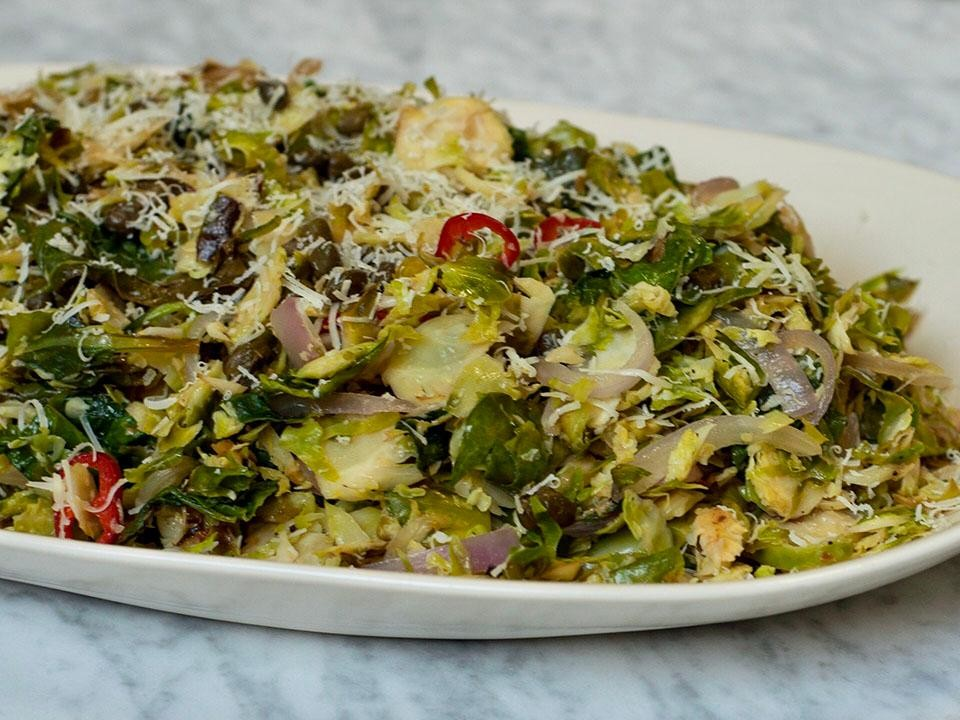 Real Simple Caramelized Brussel Sprouts