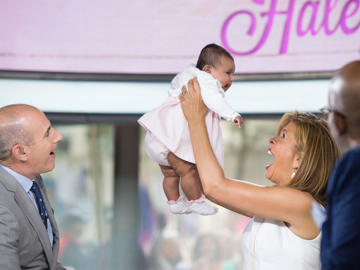 Hoda Kotb and Adopted Daughter Haley Joy