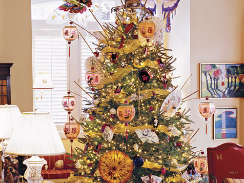 Asian Themed ChristmasTree