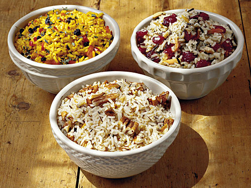 Cranberry-Almond Wild Rice