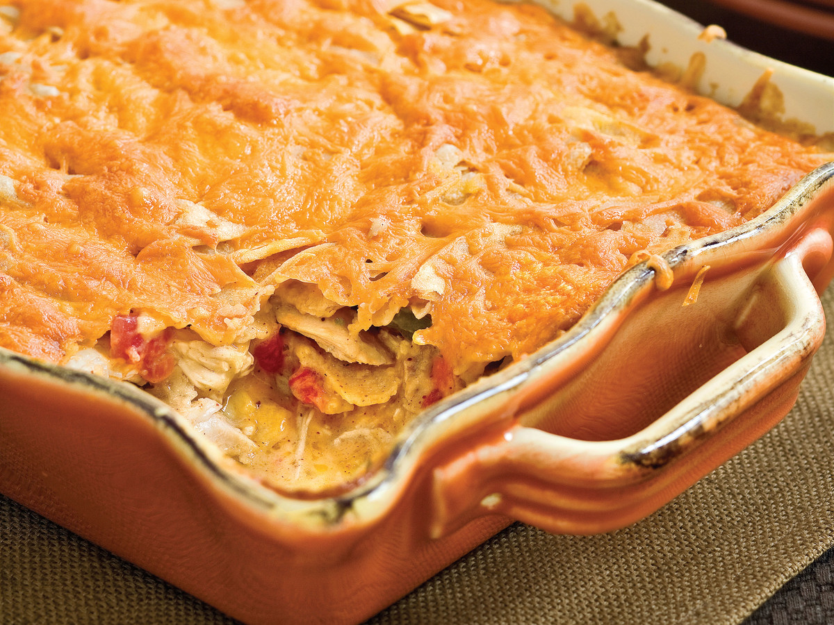 Kid-Friendly Chicken: King Ranch Chicken Casserole