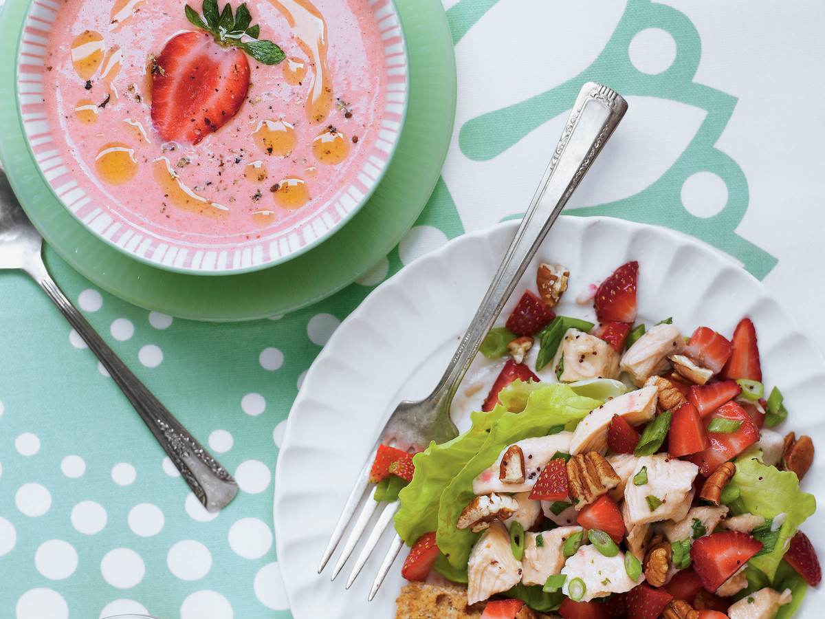 taste of home chilled strawberry soup